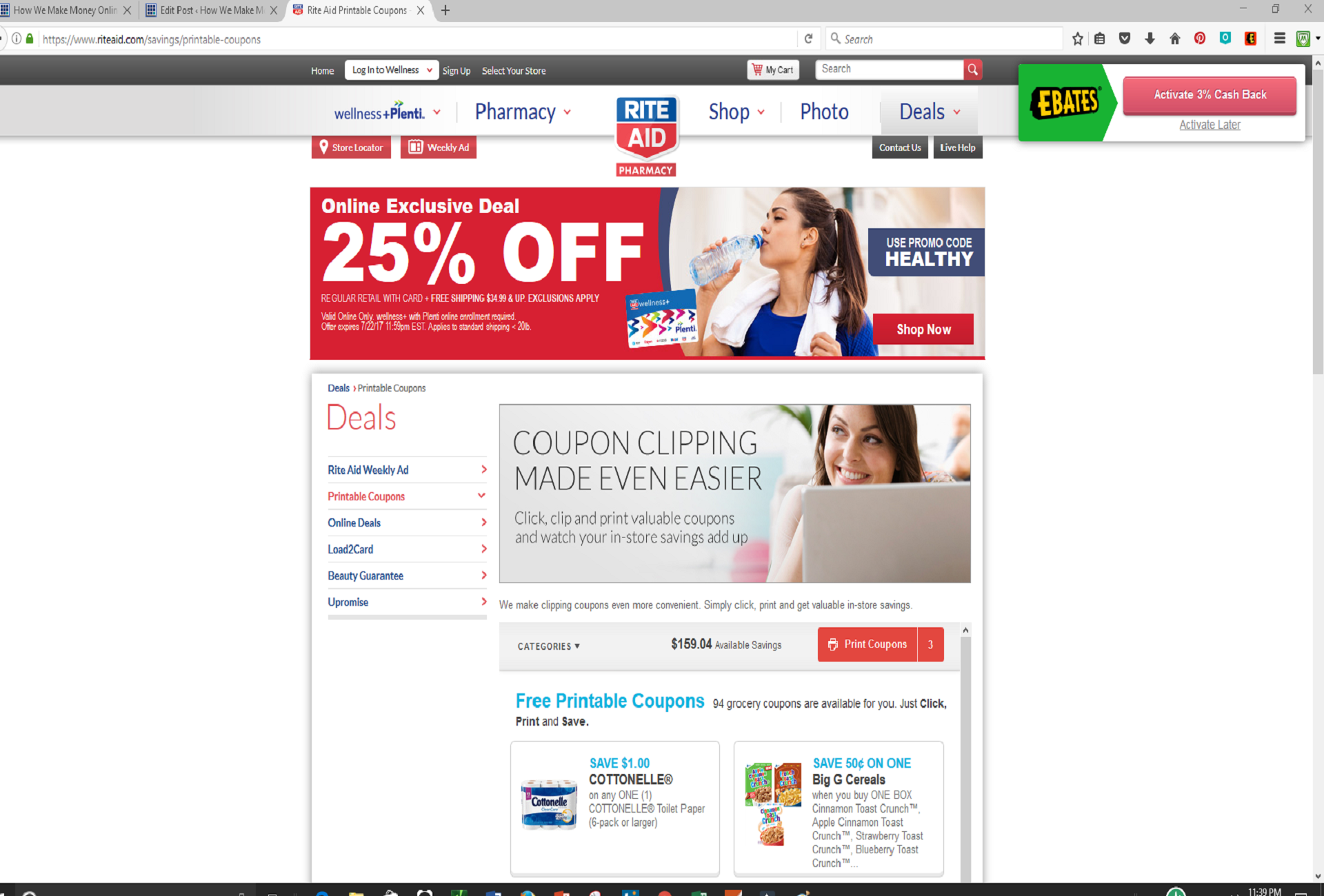 Coupons websites with biggest discounts and hot deals with military precision rite aid works around the clock to give its valued customers the best discounts and deals under the sun period fandeluxe Choice Image