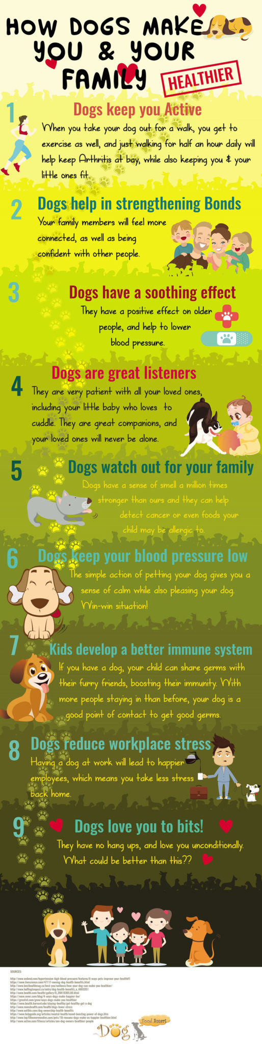 how dogs make you and your family happy