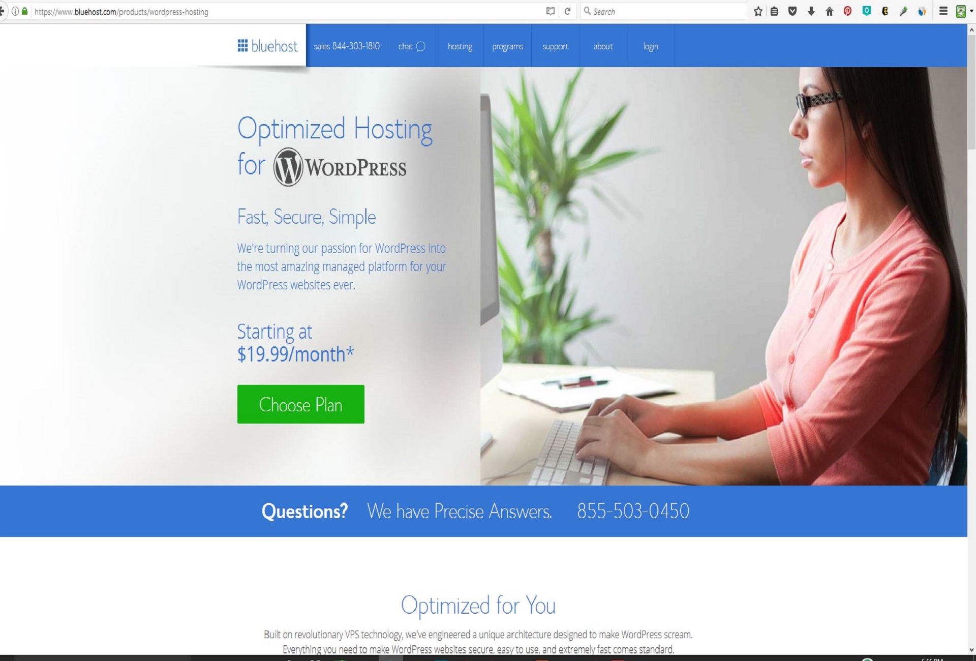 cheap wordpress hosting - secure, reliable, cheap wordpress hosting from bluehost