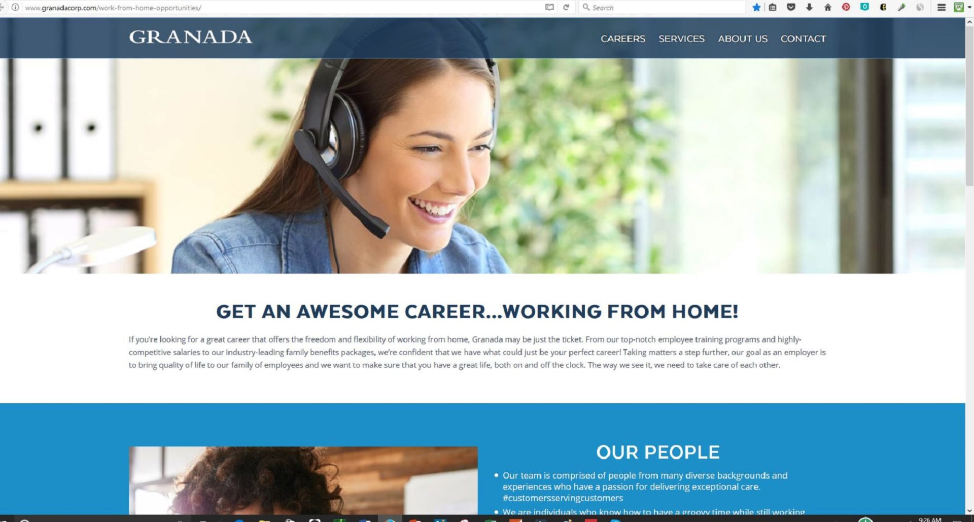 Granada Corp is Hiring Work at Home Agents in 6 States