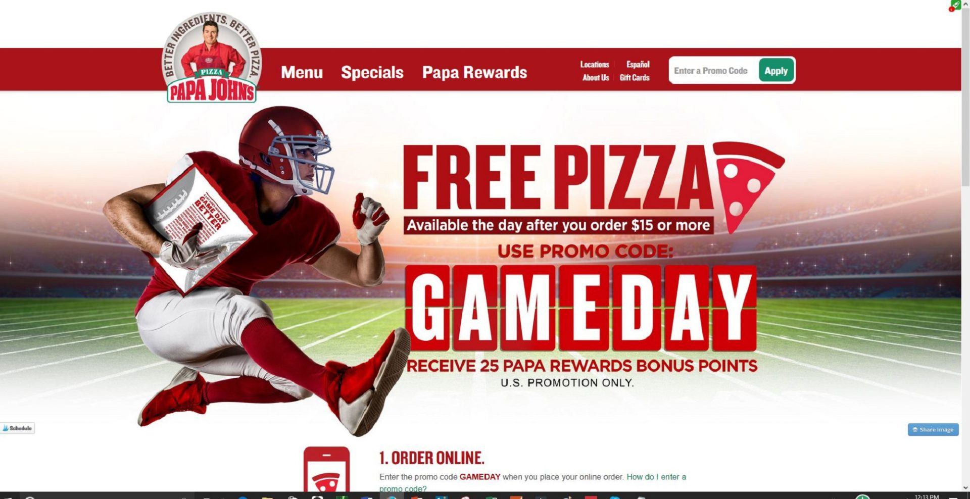 Why Papa John's is Giving You a FREE Pizza