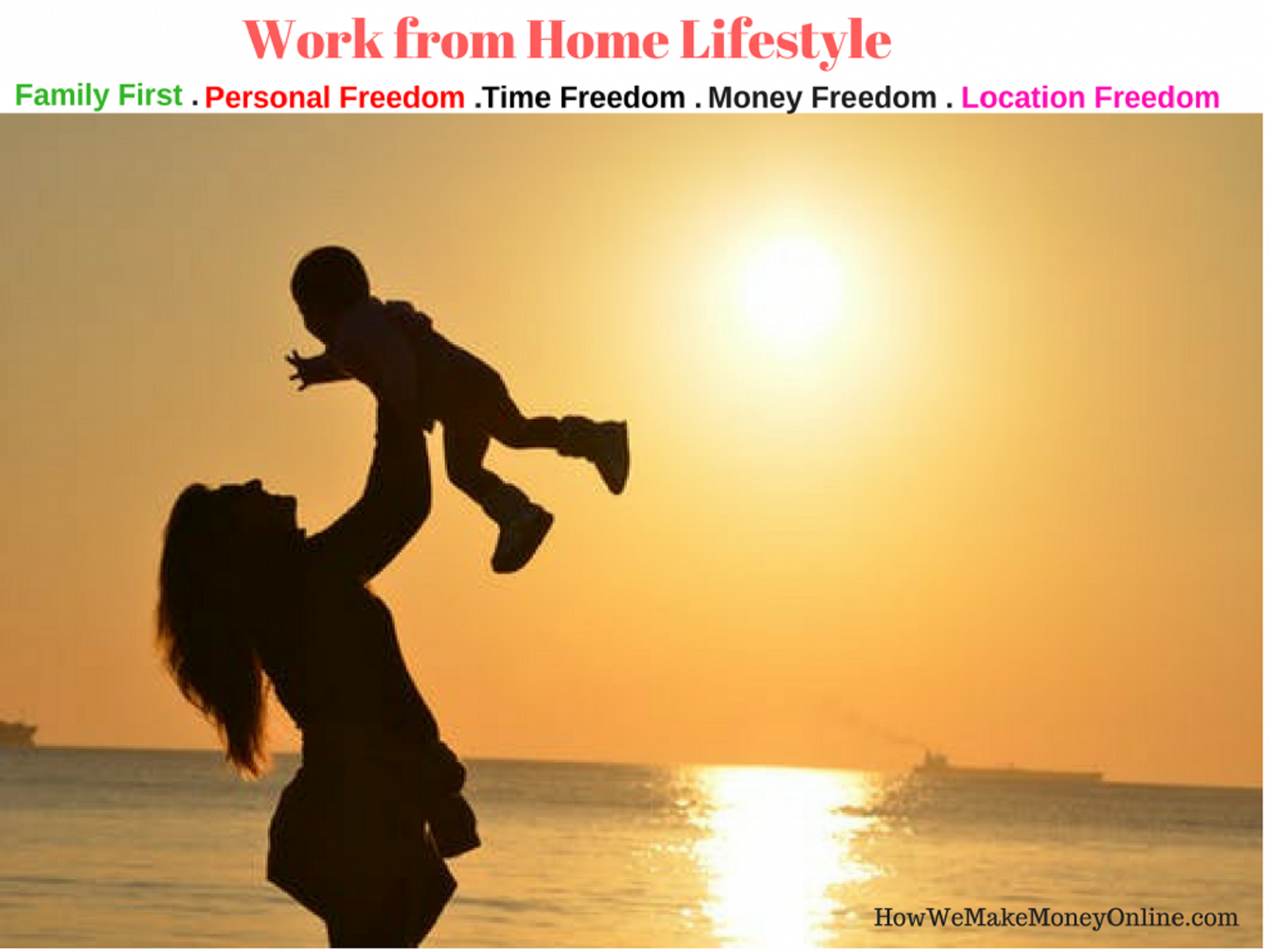 work from home lifestyle