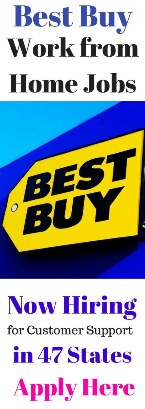Best Buy is Looking for Work from Home Customer Support in 47 States