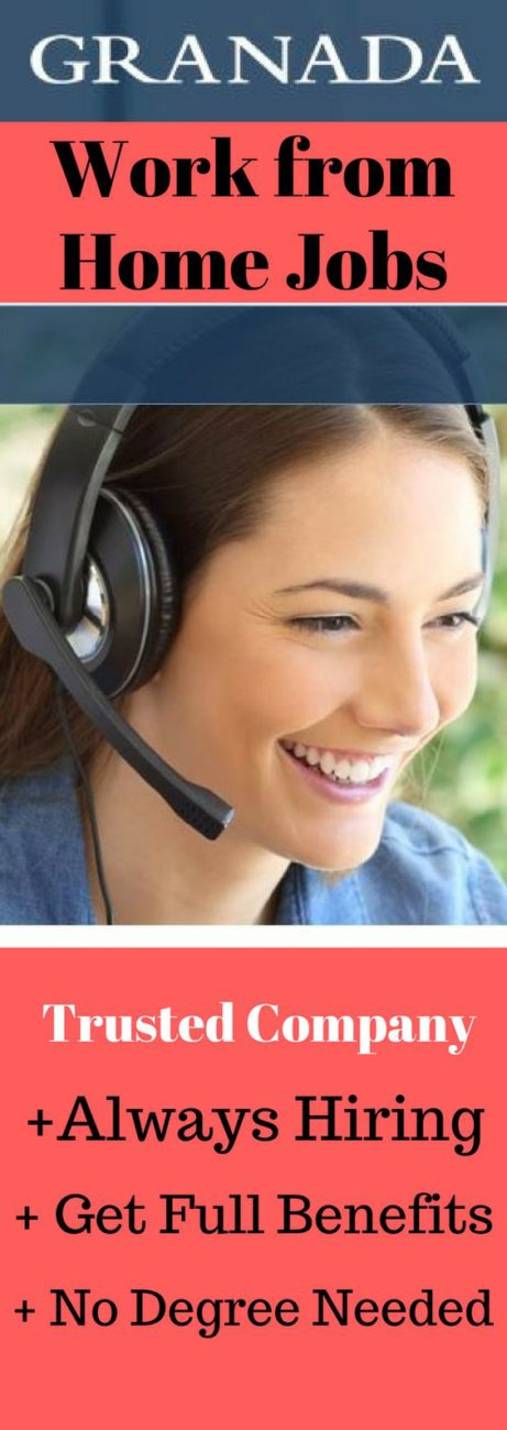 Granada is Hiring Work from Home Customer Service Representatives in 8 States