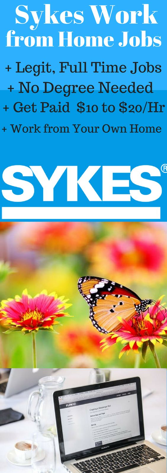 Sykes is Hiring 1000 Work from Home Customer Service Representatives in 40 States