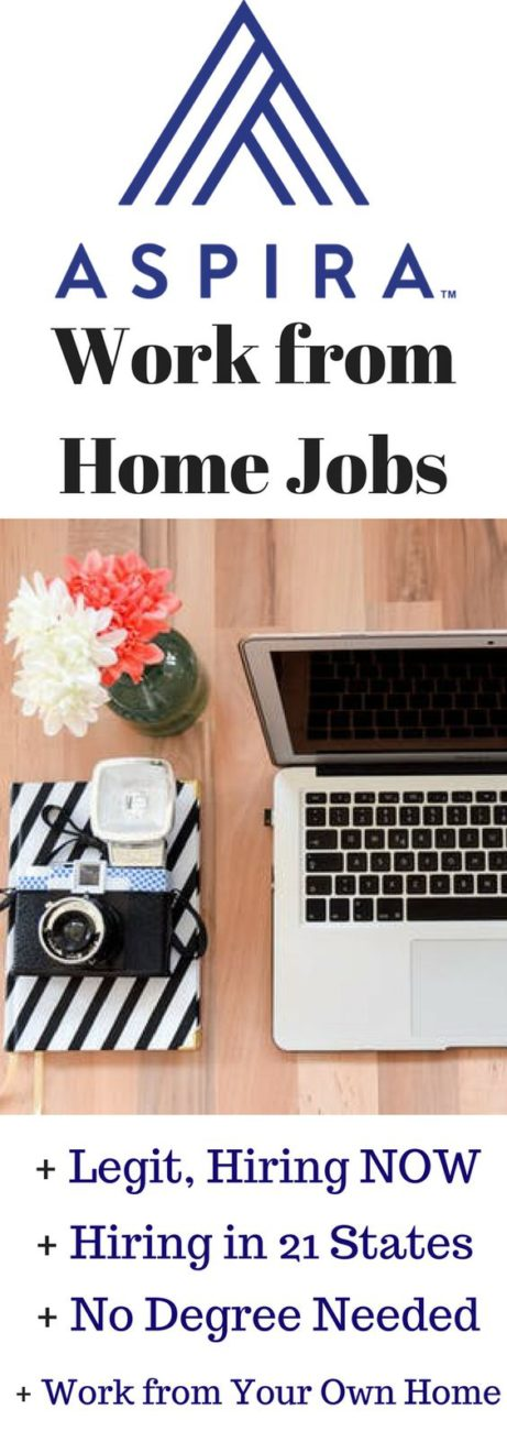 Aspira Work from Home Jobs – They are Hiring People from 50 Cities in 21 States!