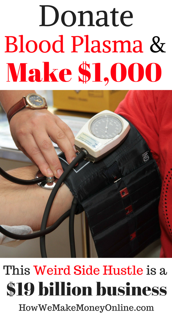 Donate Blood Plasma and Make Extra $1,000 a Month!