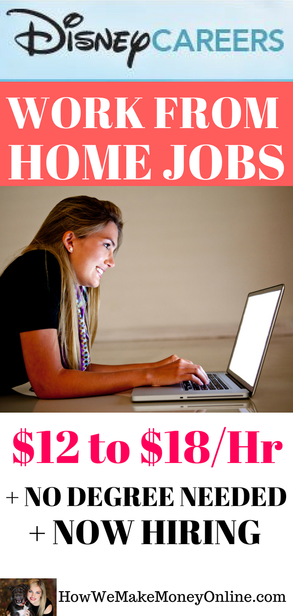 Disney Work from Home Jobs – Now Hiring in Multiple States