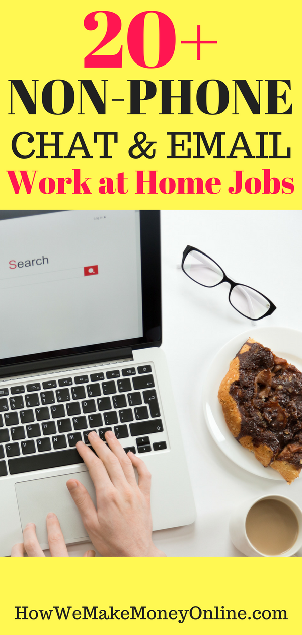 20 Live Chat Jobs from Home 2018: Online Chat Jobs Make $15 to $24/hr