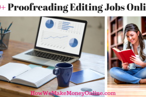Proofreading Editing Jobs Online