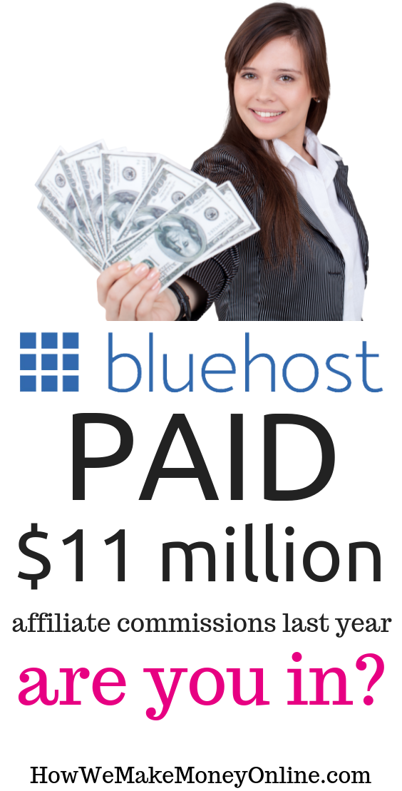 Bluehost Affiliate Program 2019 – How Millionaire Bloggers Signup and Make a Killing
