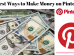 ways to make money on pinterest