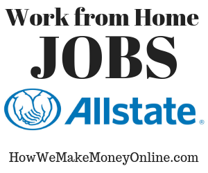 allstate work from home jobs