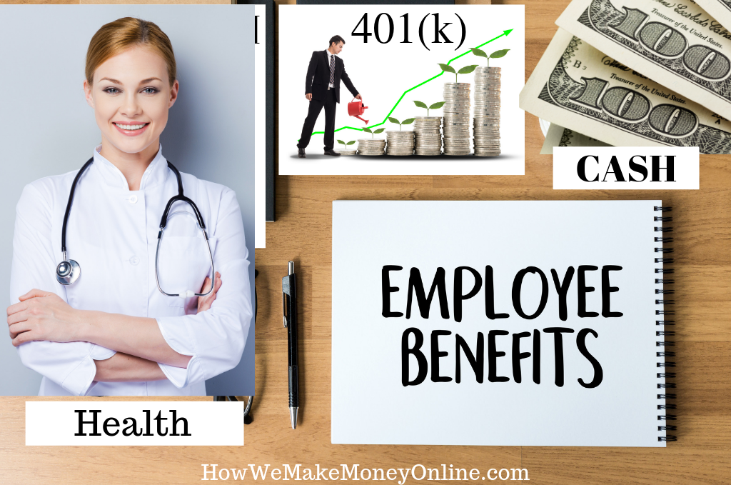 online jobs with health benefits, part-time jobs with benefits, work from home jobs that pay well, work from home jobs that pay employee benefits,