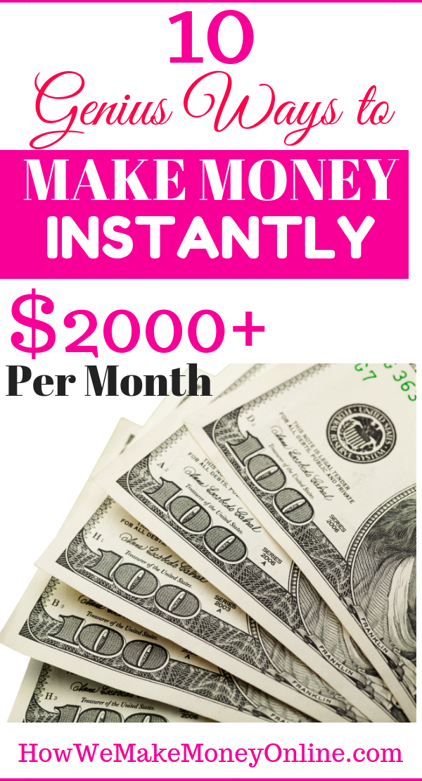 10 Ways to Get Paid Instantly – Make Money Online and Get Paid Instantly