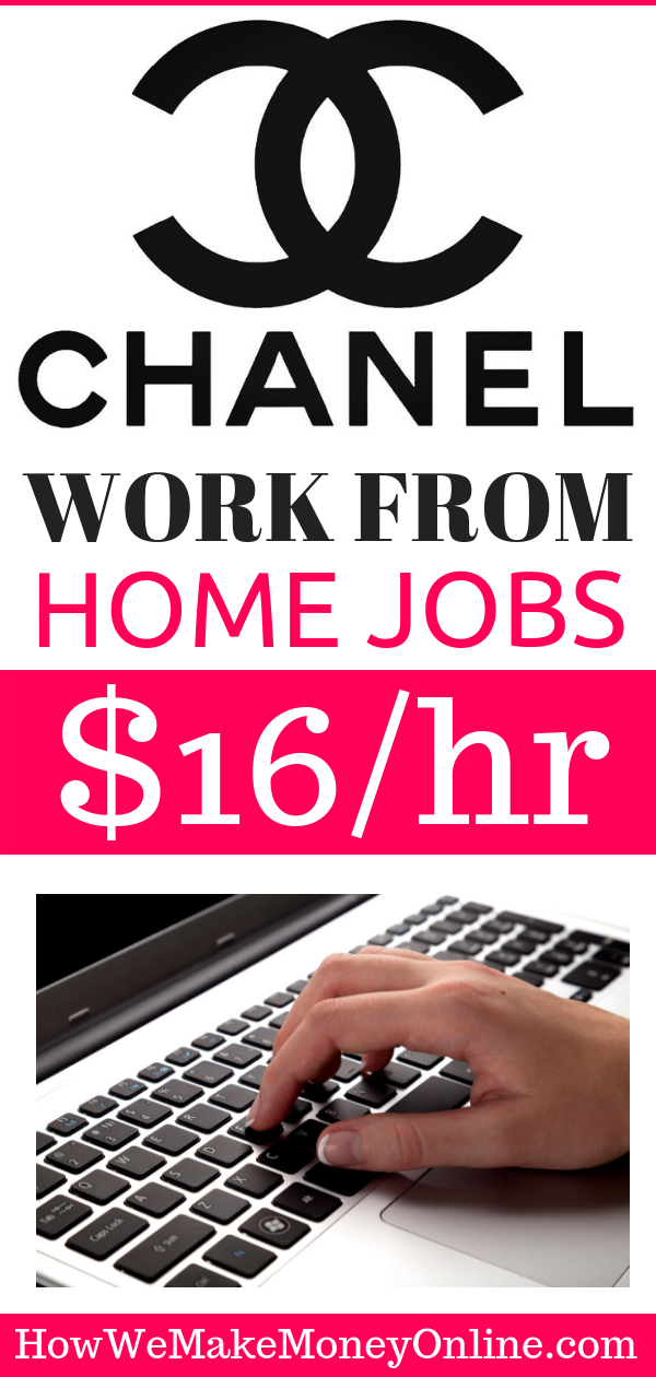 Chanel Brands is Hiring Work from Home: $18/hr