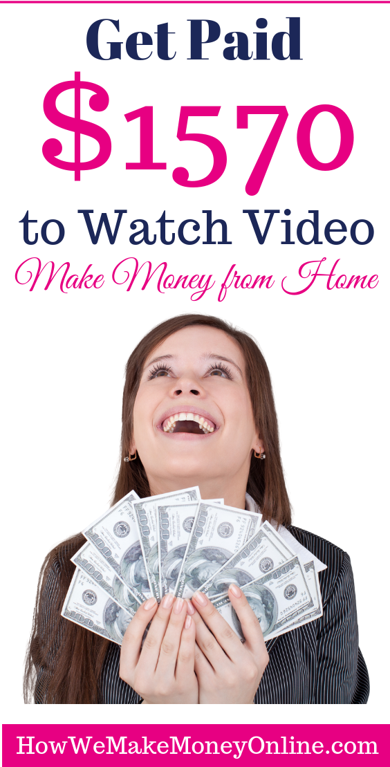 Get Paid $1570 to Watch Video!
