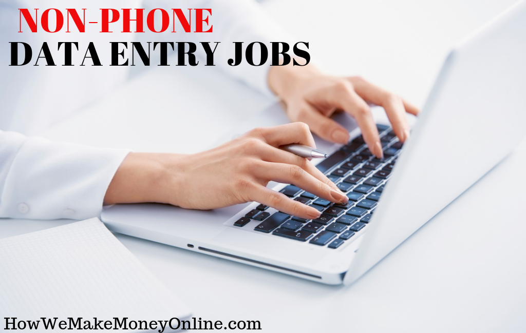 120+ non-phone work from home jobs