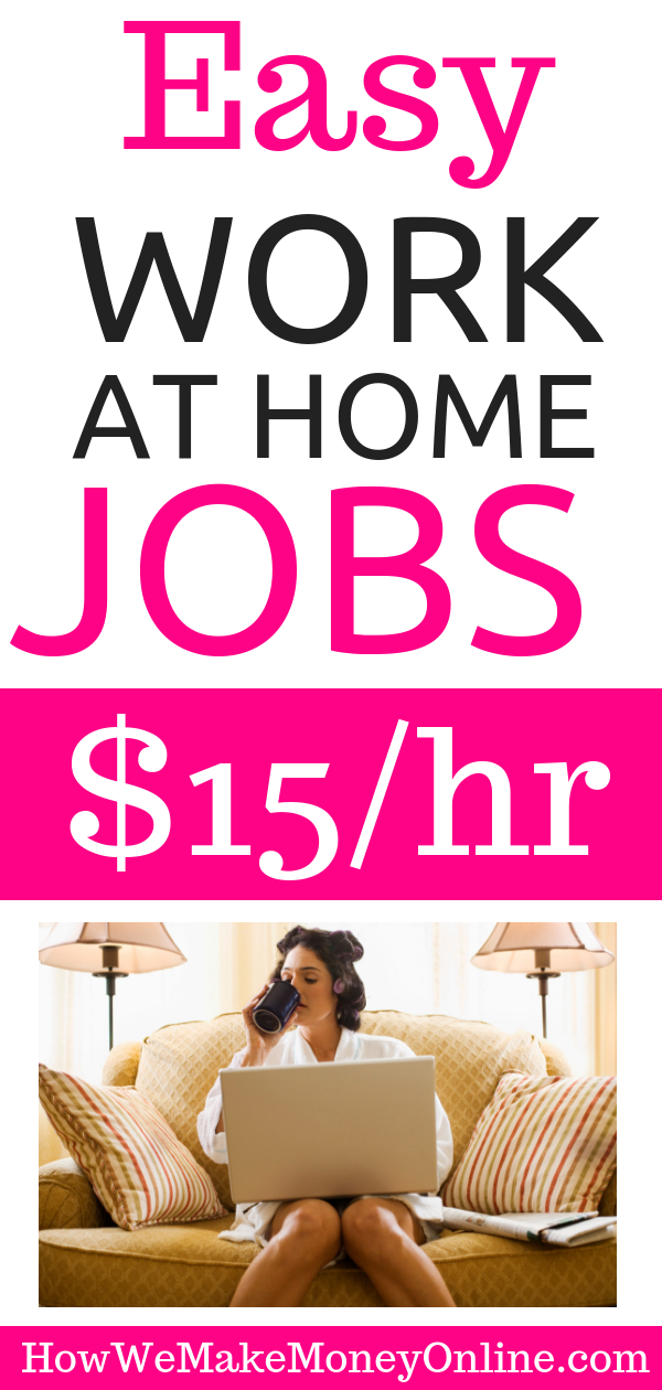Work from Home Jobs: $15.50/hr in 50 States