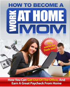 work at home moms ebook, how to work from home and make money online