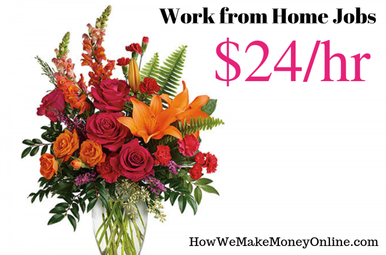 work from home jobs that pay well, make $24/hr from home and work from home. Online jobs, legitimate work from home jobs hiring now. High paying work from home jobs. No college degree needed.