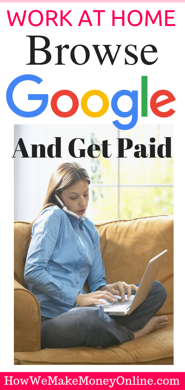 Browse Google and Get Paid