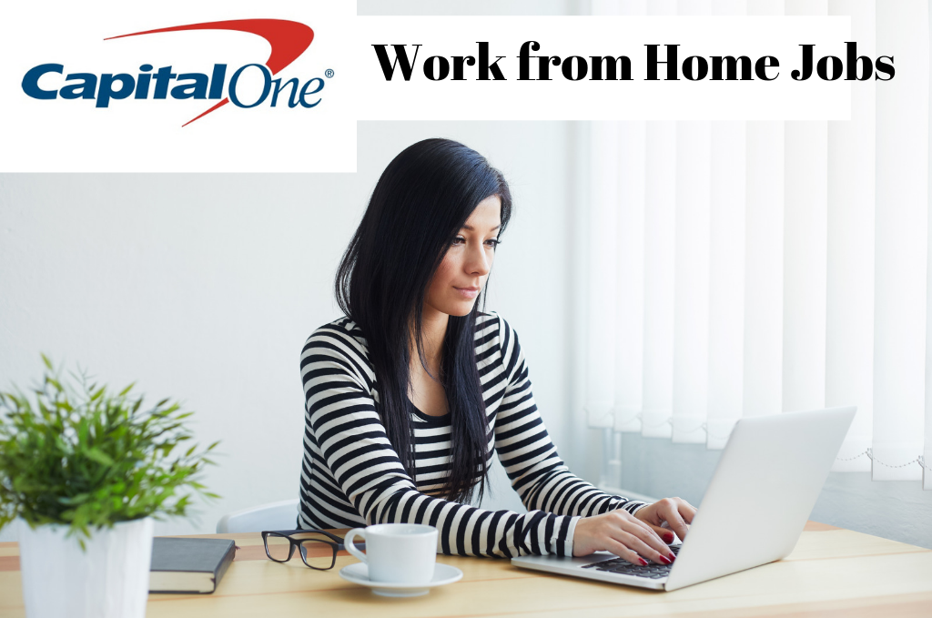 Capital One Bank is Hiring Work from Home in 50 States