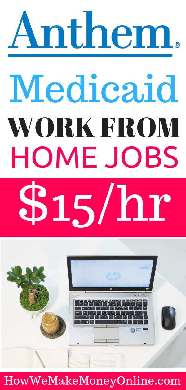 medicaid work from home jobs