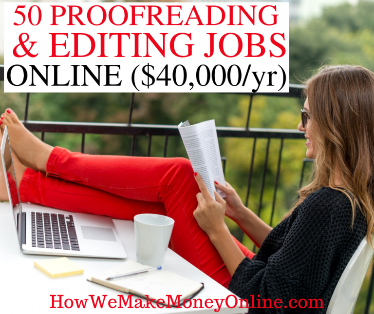 50+ Proofreading Editing Jobs Online