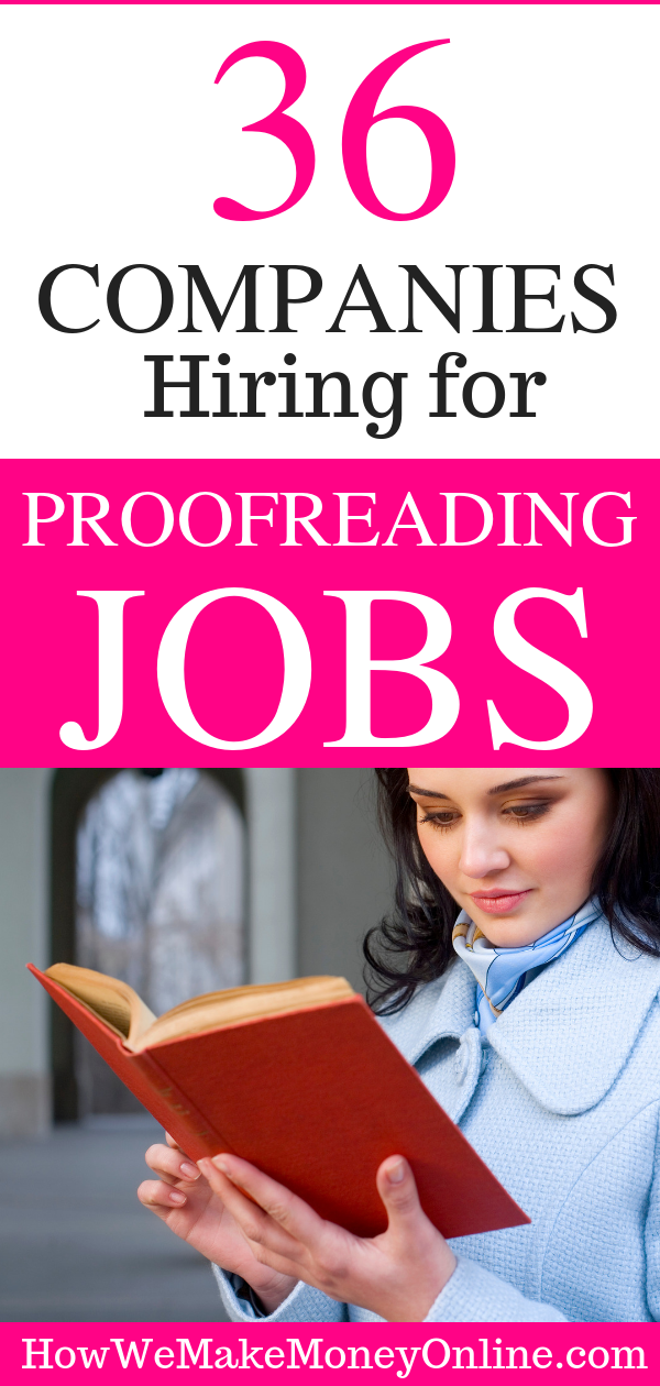 50+ Proofreading Editing Jobs Online, the BEST proofreading editing jobs online, legitimate proofreading jobs online, proofreading jobs online no experience, entry level proofreading jobs online, amazon proofreading jobs, freelance proofreading jobs from home, cactus proofreading, online proofreading, telecommuting proofreading jobs, #proofreadingjobs #onlineproofreading #proofreadingjobsfromhome #proofreadingjobsforbeginners #workfromhome #workfromhomejobs #onlinejobsfromhome