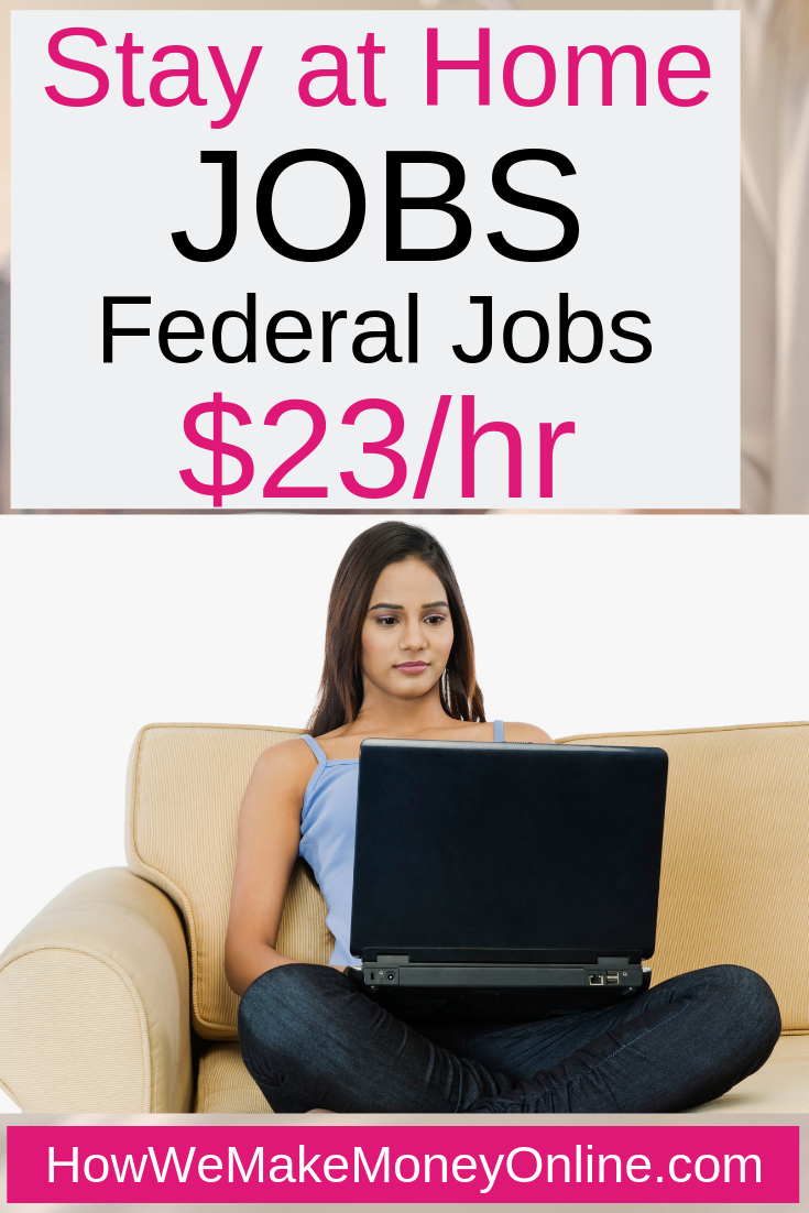 Stay at home jobs - Stay at home mom jobs. Here is a COOL stay at home job. The U.S Census Bureau is now hiring work from home for the 2020 National Population Census project. They are hiring now and you can make as much as $23/hr and work from home. No college degree needed. #stayathomejobs #stayathome #stayathomemom #workfromhome #legitjobs #makemoneyonline #onlinejobs #homejobs #remotejobs