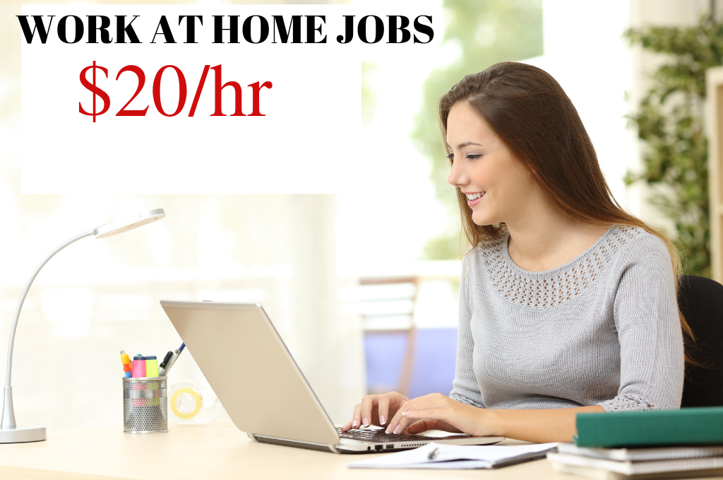 Work at Home Jobs: $20/hr – Book Flights for Executives