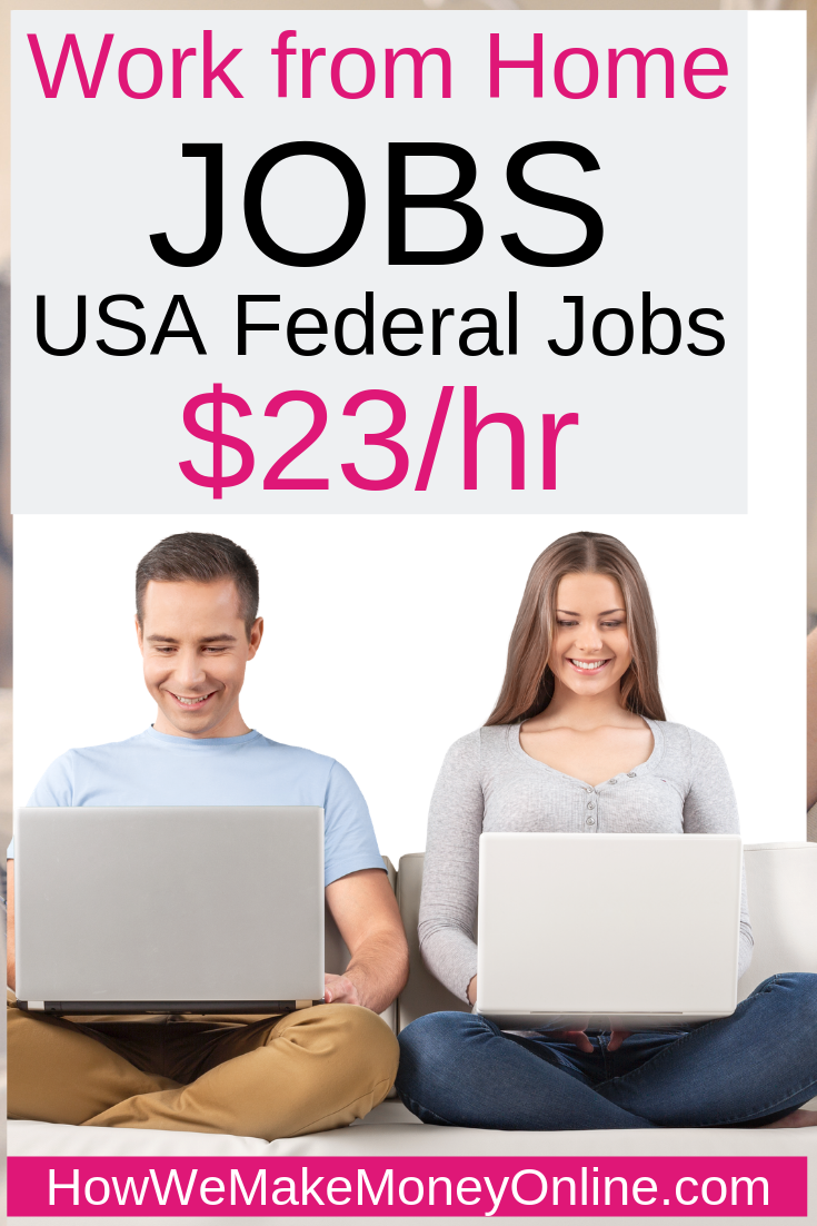 Work from home jobs, U.S. government work from home jobs. Looking for U.S. government work from home jobs or federal government work from home jobs? The U.S Census Bureau is hiring work from home for the 2020 National Census Project. You can work from home and make as much as $23/hr. No college degree needed. #workfromhome #workfromhomejobs #onlinejobs #athomejobs #homejobs #momjobs #workathomejobs #stayathomejobs #remotejobs