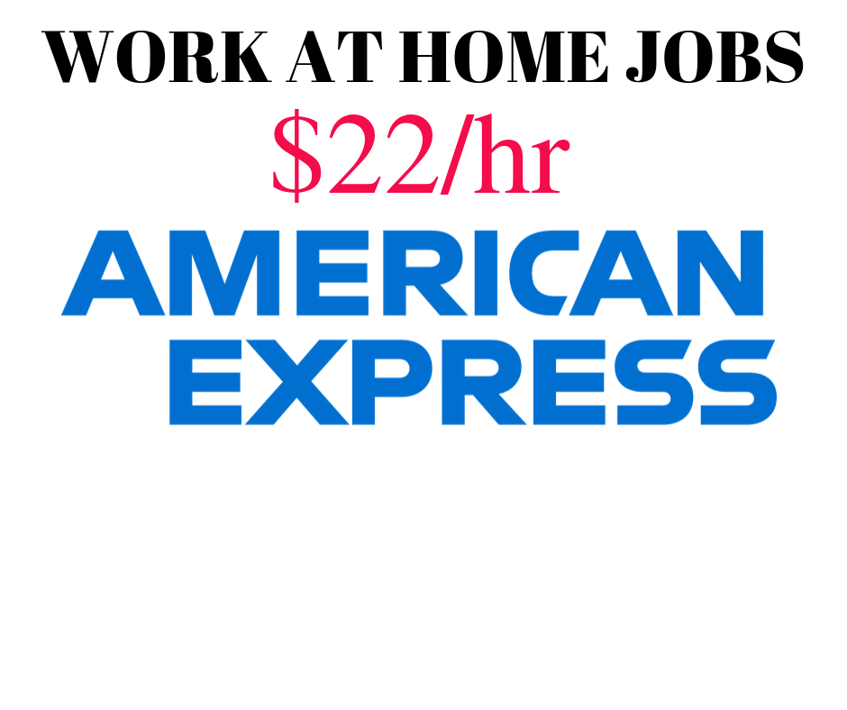 Work at Home Jobs – American Express is Hiring in 47 States