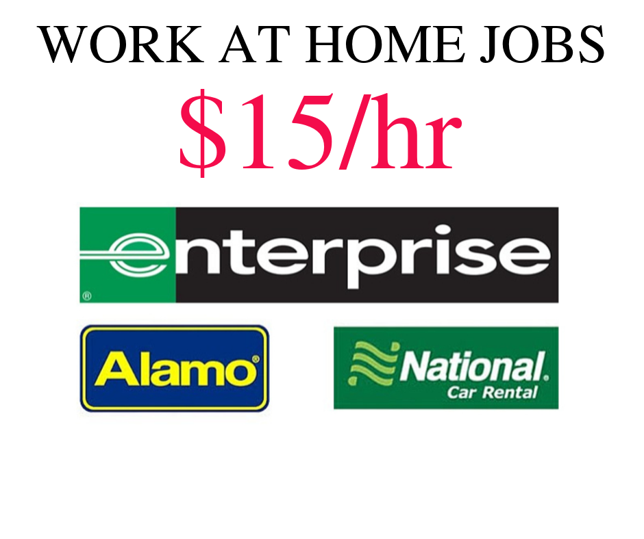Enterprise Car Rental is Hiring Work from Home in 33 Cities