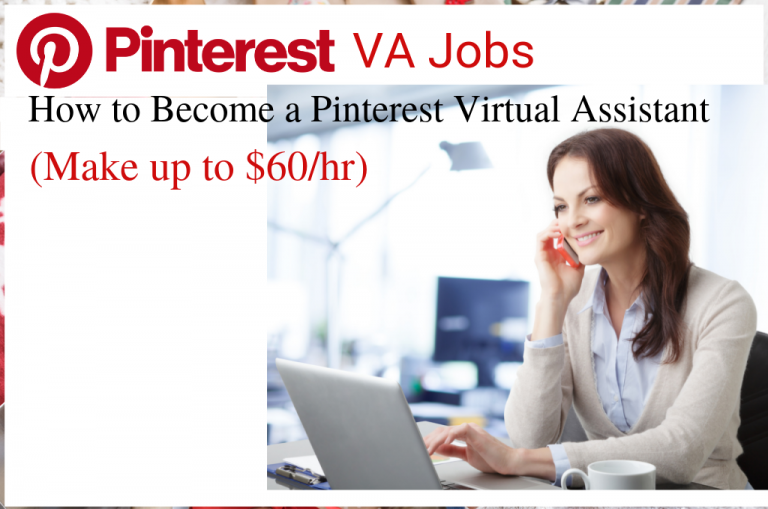 pinterest va jobs, how to become a Pinterest virtual assistant, how to make money on Pinterest. Looking for Pinterest VA jobs? Want to make money and work from home as a Pinterest virtual assistant? In this simple post, I will SHOW you how to become a Pinterest virtual assistant. You can make six-figures on Pinterest. #pinterest #pinterestva #pinterestvajobs #virtualassistantjobs #virtualassistant #owkrfromhome #workfromhomejobs #makemoneyfromhome #makemoneyonline