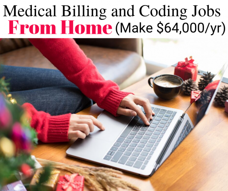 Medical billing and coding jobs from home. Make up to $64,000 or more from Medical billing and coding jobs from home
