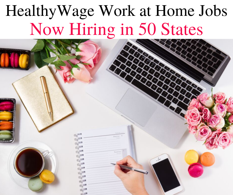 HealthyWage is Hiring Work at Home in 50 States