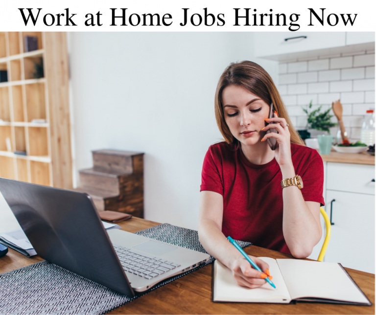 work at home jobs hiring now
