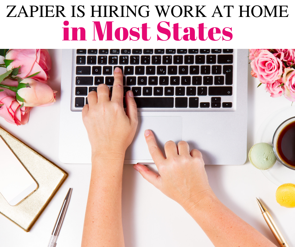 Zapier is Hiring Work from Home in Most States