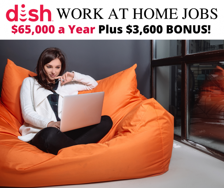 Dish network work at home jobs hiring now. Make up to $65,000 a year plus $3,600 bonus. Best work at home jobs hiring now. High-paying work at home jobs hiring now #dish #dishnetwork #workathomejobs #workathome #remotejobs #telecommute #virtualjobs