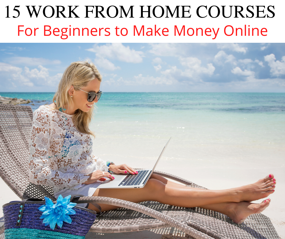 15 Best Work from Home Courses for Beginners